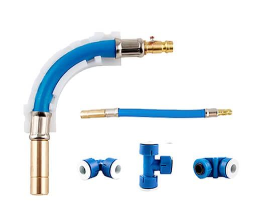 Rohrsystem - Rohrleitung für Wasser - Wasserleitung Leitungssystem Frischwasser