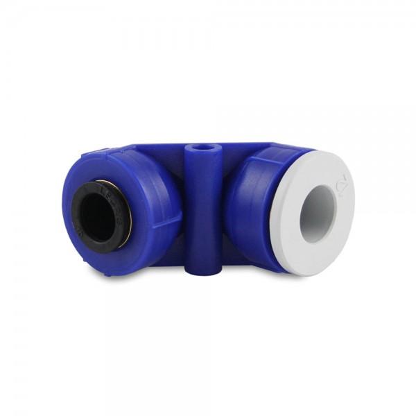 Winkel-Steckverbinder 90° 10/12mm