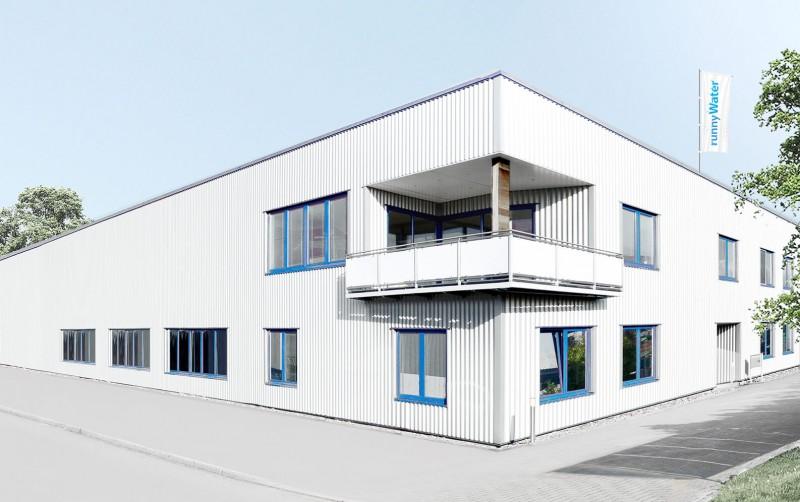 runnywater® Aussenansicht Firmengebäude - Weserstrasse 19, 47506 Neukirchen-Vluyn