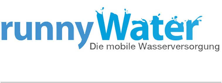 runnywater® mobile Wasserversorgung Logo