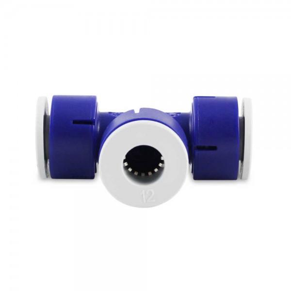 T-Steckverbinder 12 mm zwei Anschlüsse