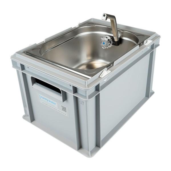Mobiles Waschbecken (WB2) Eurobox - 1/2 GN