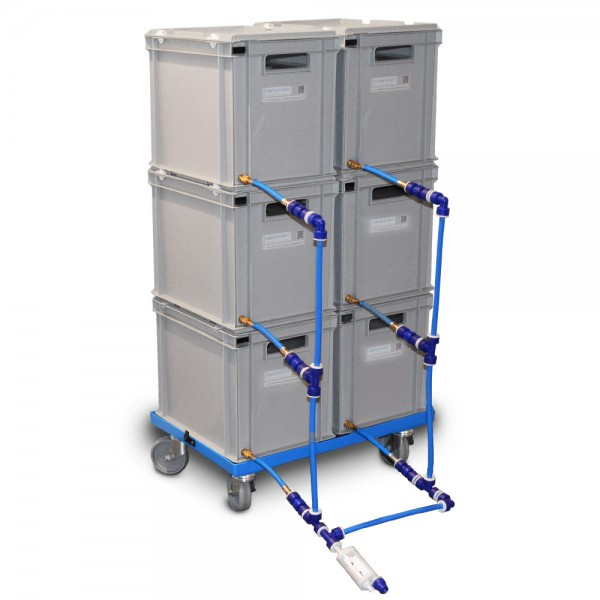 6er Wasserkanister Set