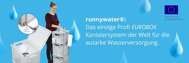 Mobile Wasserversorgung - Hygienestationen, Wasserstationen und Frischwasserstationen