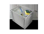 Wassertank mit Fach für Zubehör-Stauraum